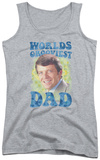 Juniors Tank Top: Brady Bunch - Worlds Grooviest Tank Top