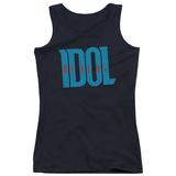 Juniors Tank Top: Billy Idol - Logo Tank Top