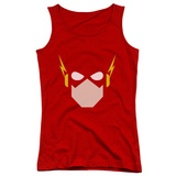 Juniors Tank Top: Justice League - Flash Head Tank Top