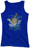 Juniors Tank Top: Madagascar - Escaped Womens Tank Tops