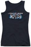 Juniors Tank Top: Infinite Crisis - IC Blue Tank Top