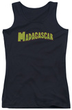 Juniors Tank Top: Madagascar - Logo Tank Top