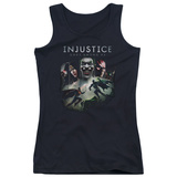 Juniors Tank Top: Injustice Gods Among Us - Key Art Tank Top