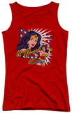 Juniors Tank Top: DC Comics - Pop Art Wonder Tank Top