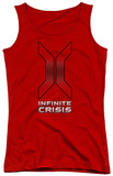 Juniors Tank Top: Infinite Crisis - Title Tank Top
