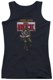 Juniors Tank Top: DC Comics - Sgt Rock Tank Top