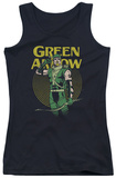 Juniors Tank Top: DC Comics - Green Arrow Pull Tank Top