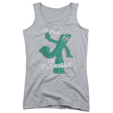 Juniors Tank Top: Gumby - Flex Tank Top