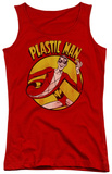 Juniors Tank Top: DC Comics - Plastic Man Tank Top