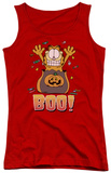 Juniors Tank Top: Garfield - Boo! Tank Top