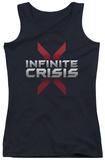 Juniors Tank Top: Infinite Crisis - Logo Tank Top