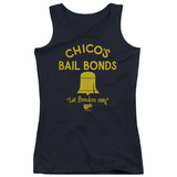 Juniors Tank Top: Bad News Bears - Chico's Bail Bonds Tank Top