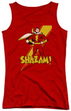 Juniors Tank Top: DC Comics - Shazam! Tank Top