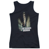 Juniors Tank Top: Bionic Woman - Motion Blur Tank Top