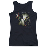 Juniors Tank Top: Injustice Gods Among Us - Good vs Evil Tank Top