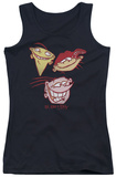 Juniors Tank Top: Ed Edd Eddy - Three Heads Tank Top