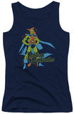 Juniors Tank Top: DC Comics - Martian Manhunter Tank Top