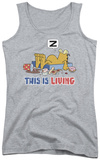 Juniors Tank Top: Garfield - This Is Living Tank Top