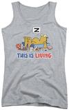 Juniors Tank Top: Garfield - This Is Living Tank Top