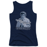 Juniors Tank Top: Columbo - Just One More Thing Tank Top