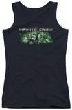 Juniors Tank Top: Infinite Crisis - IC Green Tank Top