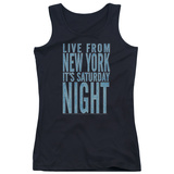 Juniors Tank Top: Saturday Night Live - It's Saturday Night Tank Top