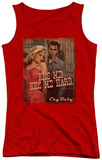 Juniors Tank Top: Cry Baby - Kiss Me Tank Top