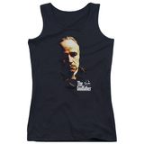 Juniors Tank Top: Godfather - Don Vito Womens Tank Tops