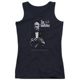 Juniors Tank Top: Godfather - Poster Womens Tank Tops