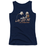 Juniors Tank Top: Saturday Night Live - Lay Off Me Tank Top