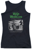 Juniors Tank Top: War Of The Worlds - Attack People Poster Tank Top