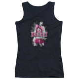 Juniors Tank Top: Bettie Page - Knockout Tank Top