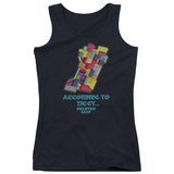 Juniors Tank Top: Quantum Leap - According To Ziggy Tank Top