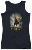 Juniors Tank Top: Tintin - Poster Tank Top
