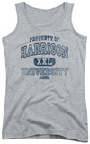 Juniors Tank Top: Old School - Property Of Harrison Tank Top