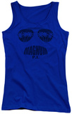 Juniors Tank Top: Magnum PI - Face It Womens Tank Tops