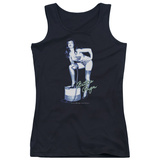 Juniors Tank Top: Bettie Page - Mistress Tank Top