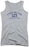 Juniors Tank Top: Biggest Loser - Team Jillian Athletic Tank Top