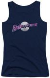 Juniors Tank Top: Galaxy Quest - Logo Womens Tank Tops
