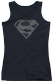 Juniors Tank Top: Superman - Chainmail Womens Tank Tops