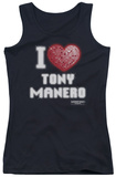 Juniors Tank Top: Saturday Night Fever - I Heart Tony Tank Top