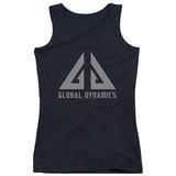 Juniors Tank Top: Eureka - Global Dynamics Logo Womens Tank Tops