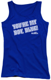 Juniors Tank Top: Old School - My Boy Blue Tank Top