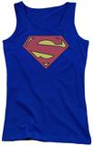 Juniors Tank Top: Superman - New 52 Shield Womens Tank Tops