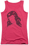 Juniors Tank Top: Bettie Page - Name Hair Tank Top