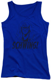Juniors Tank Top: Saturday Night Live - Schwing Tank Top