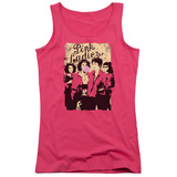 Juniors Tank Top: Grease - Pink Ladies Womens Tank Tops