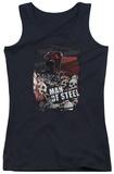 Juniors Tank Top: Man Of Steel - Saviour Tank Top