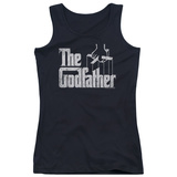 Juniors Tank Top: Godfather - Logo Womens Tank Tops