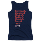 Juniors Tank Top: Major League - Team Roster Tank Top